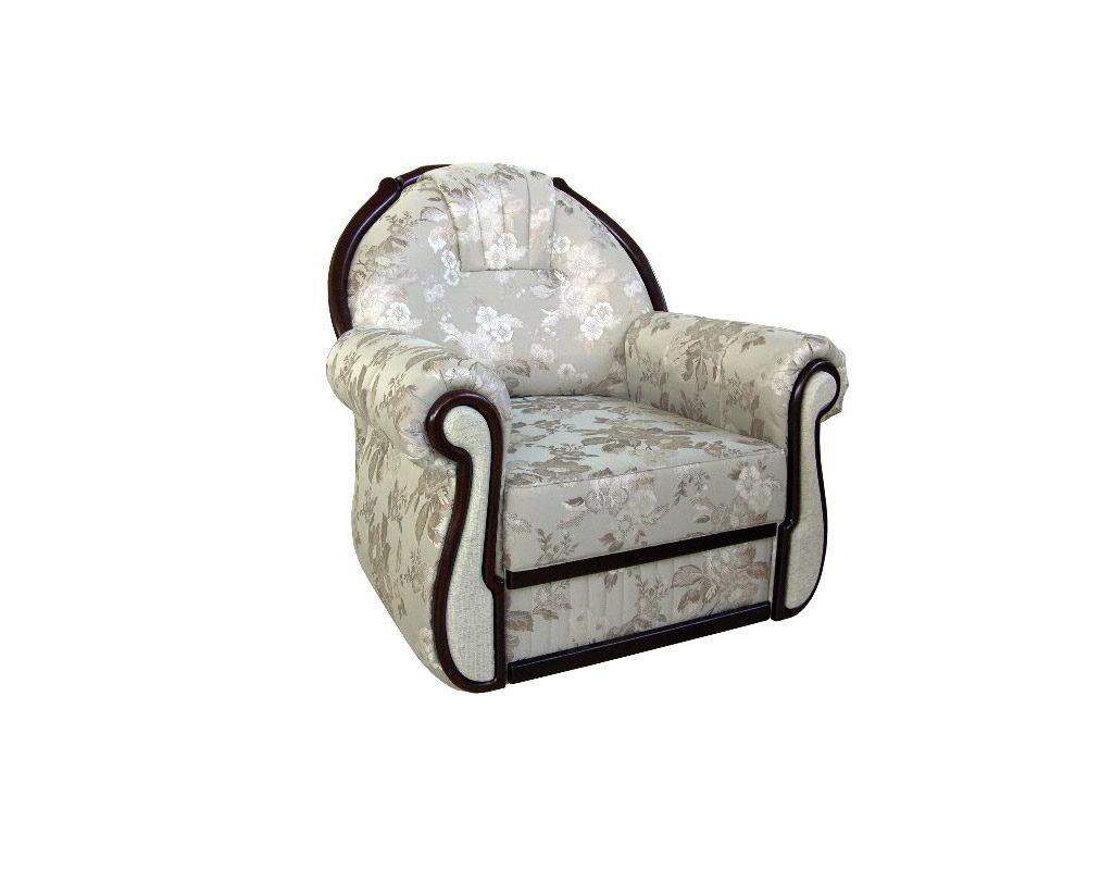 мягкое кресло с декором птичка