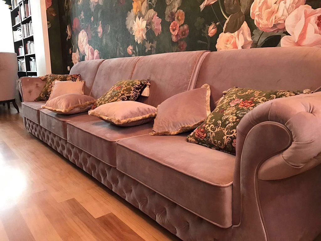 нестандартный диван фабрика наири
