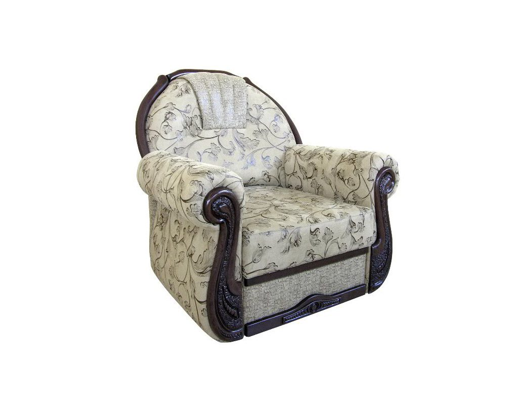 кресло-кровать собранное