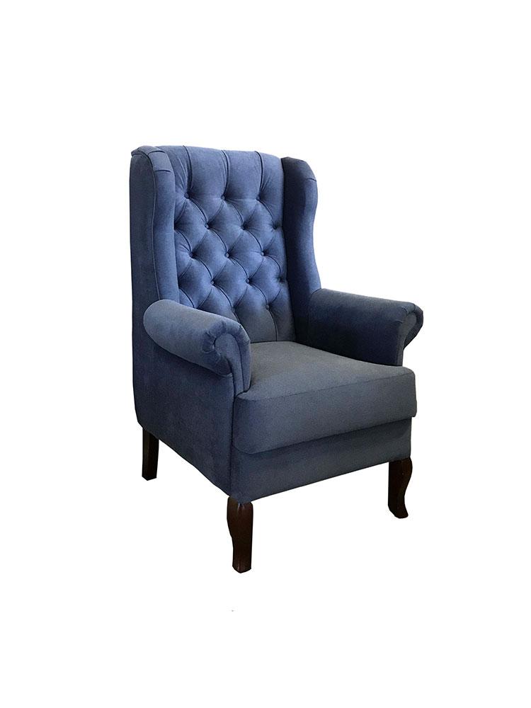 синее кресло наири